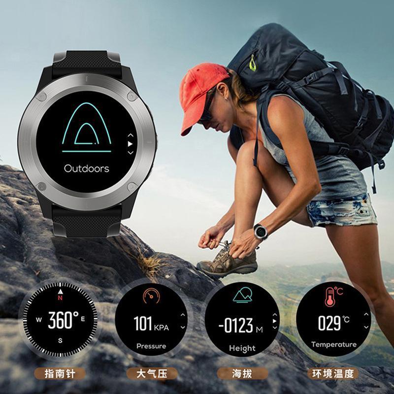 Wristwatches Smart Bracelet Mountaineering Heart Rate Blood Pressure Altitude Measurement R911 Outdoor Sports Cross-Border Bluetooth