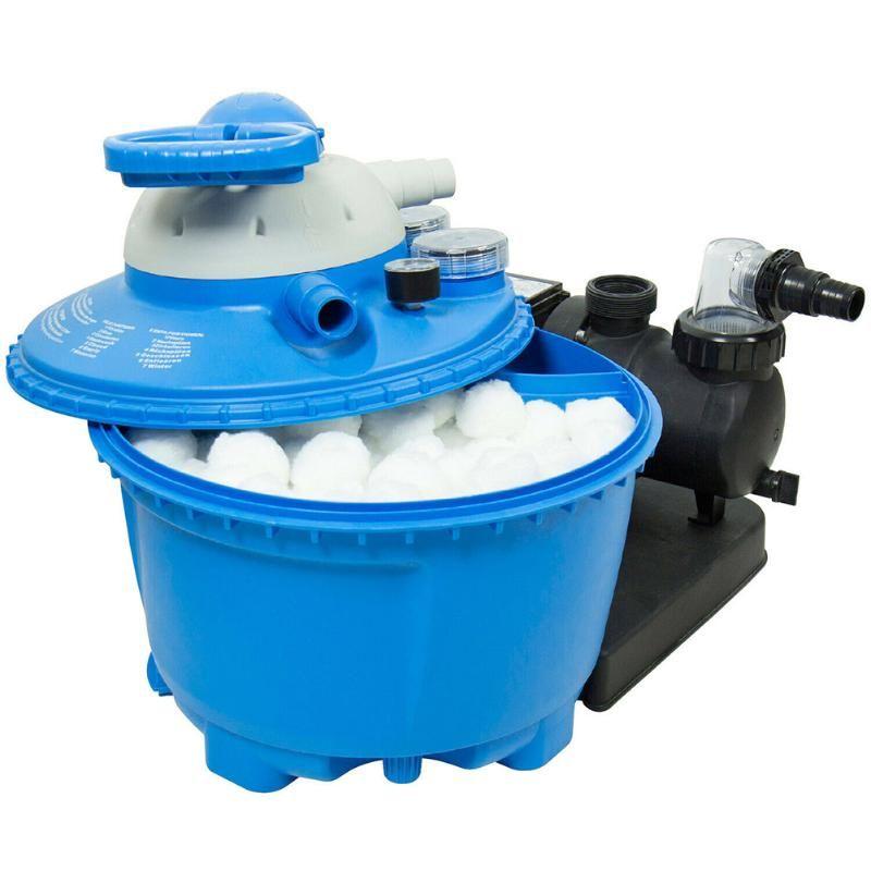 Accessoires de piscine filtre ballon de ballon léger durable écologique pour équipement de nettoyage de natation PR Vente