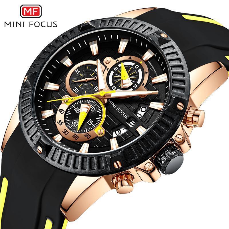 Hommes Montres Haut Mode Montre Sport Hommes Étanche Quartz Relogio Masculino Armée Chronographe Montre-Bracelet