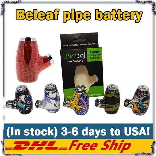 E Tubi Belef VAPorizer Mech Mod sigari Cartuccia VAPE 900 mAh 510 Thread Thread Volavi Voltage Ecig Battery Kit KY32 Sigarette 100% originale