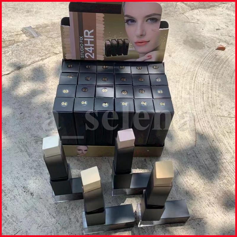 الوجه الجمال ماكياج المخفي عصا مؤسسة القلم maquiagem المكياج التمويه maquillaje ناعمة كونتور 4 ألوان