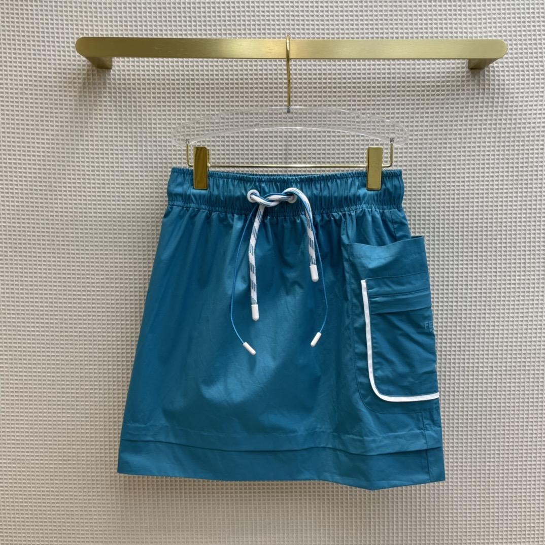 2021 İlkbahar Yaz Sonbahar Milano Tasarımcı Etekler Moda Bir Etek Kadın Marka Aynı Stil Etekler 0613-6