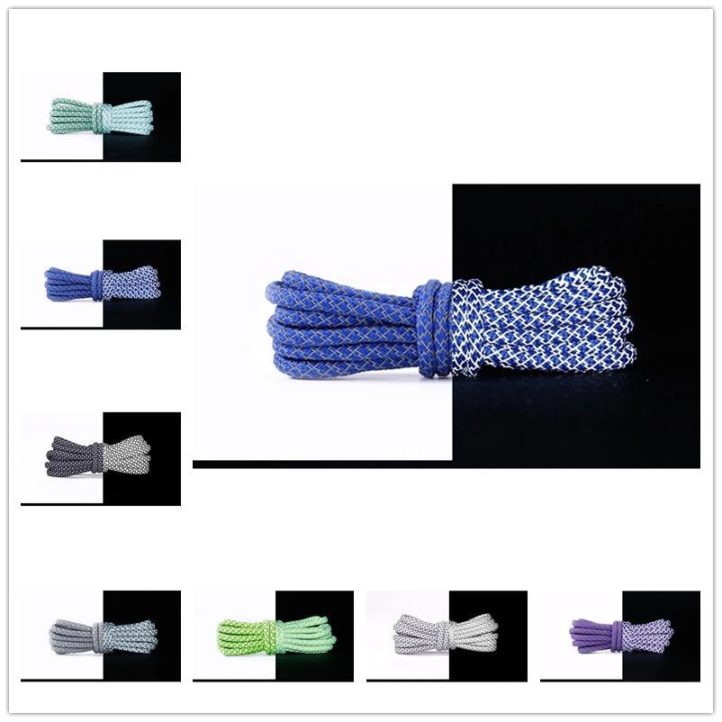 1Pair Colorful Desses Rainbow Gradient Imprimer Toile à plateau chaussure chaussures de lacets occasionnels Chromatique couleur chromatique Shoelaces Velours vert Velvet 80cm 100cm 120cm