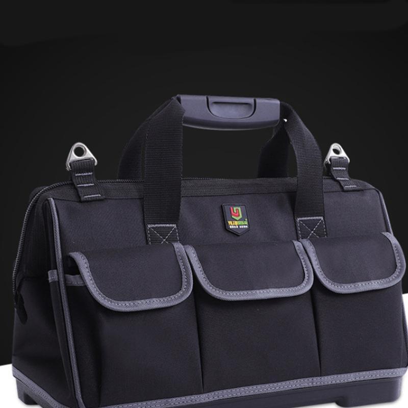 Storage Bags Multifunctional Repairing Tool Bag Wireman Black (Inches)