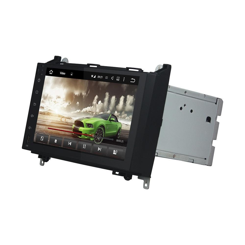 Carplay Android 자동 PX6 안드로이드 10 자동차 DVD 플레이어 메르세데스 벤츠 A 클래스 W169 / B-Class W245 / Viano Vianto W639 / Sprinter W906 DSP 라디오 GPS 와이파이 블루투스 5.0 쉬운 연결