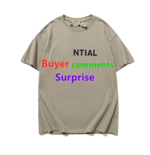 2021 Fashions 100% Pamuk Kısa Kollu T Gömlek Gevşek Eğilim Erkek Yarım Kollu Basit Harfler Mens Bayan Gömlek S-5XL