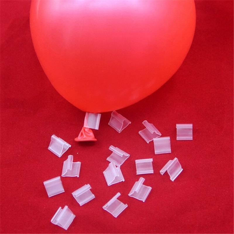 Bag Clips 100 шт. Latex Balloon PVC Воздушные шары Уплотнительные зажимы Шарики Аксессуары Клип Ballon Кнопки Party Saceors BDF99