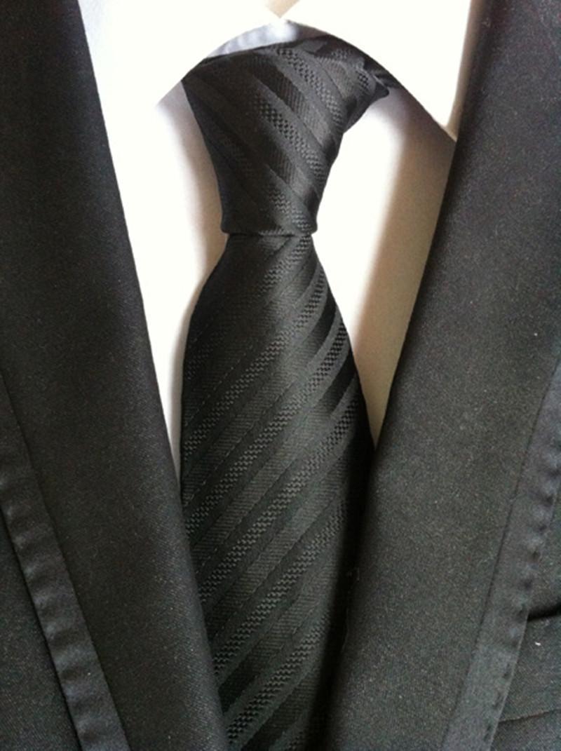 التعادل للرجال الكلاسيكية شريط الجاكار العلاقات 8 سنتيمتر رجل الأعمال عارضة القلنات نحيل العريس ربطة العنق حفل زفاف بدلة قميص N-36881