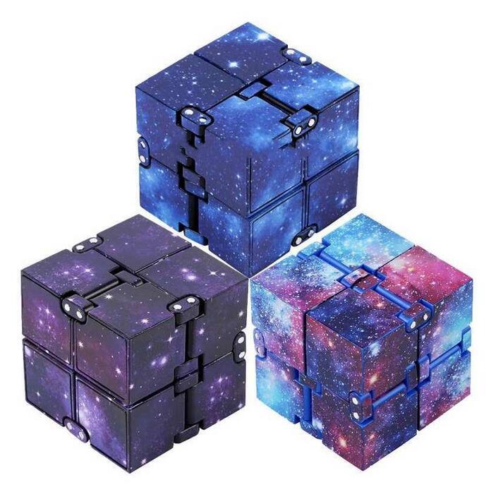 Infinity Cube Antistress Fidget Juguetes Estrés Alivio Cubo para niños Niños Mujeres Hombres Hombres Juguetes sensoriales para Autismo TDAHD