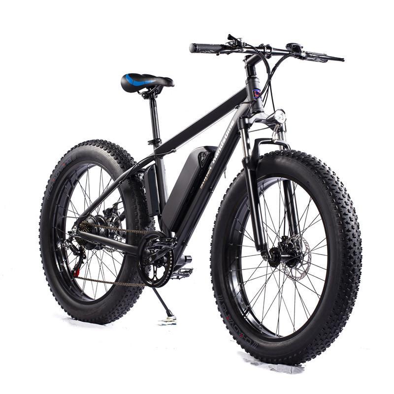 [Azioni USA UE] Bicicletta elettrica S101 500W Moped MTB MTB 26 pollici E-Bike Disc Freno a disco 12Ah 48 V 32km / h 7Speed 70km Mountain Cycling Bike