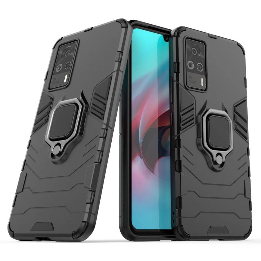 Porte-bague Kickstand Cover Coque Armure Double couche robuste pour VIVO S9E IQOO Z3 NEO5 X60 PRO PLUS 50PCS / LOT
