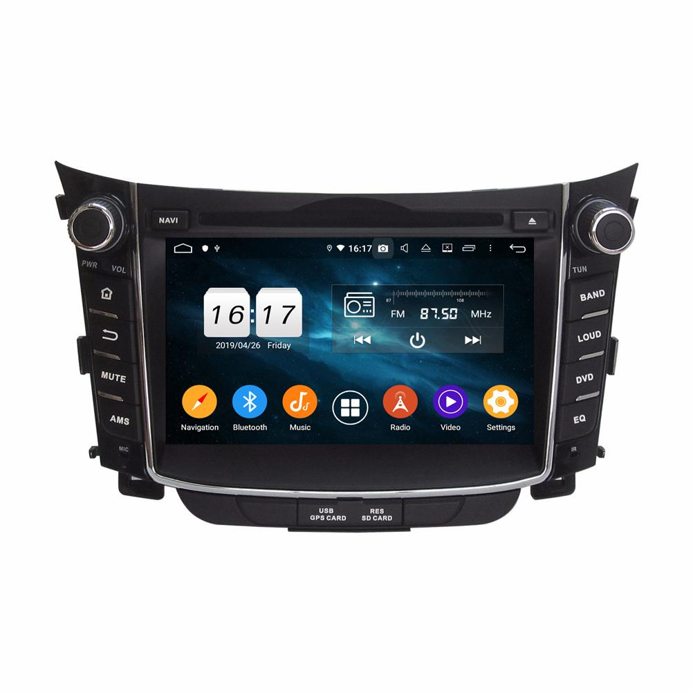 "4GB + 128GB PX6 2 DIN 7 ""Android 10 자동차 DVD 플레이어 현대 i30 2011-2015 DSP 스테레오 라디오 GPS 네비게이션 와이파이 블루투스 5.0"