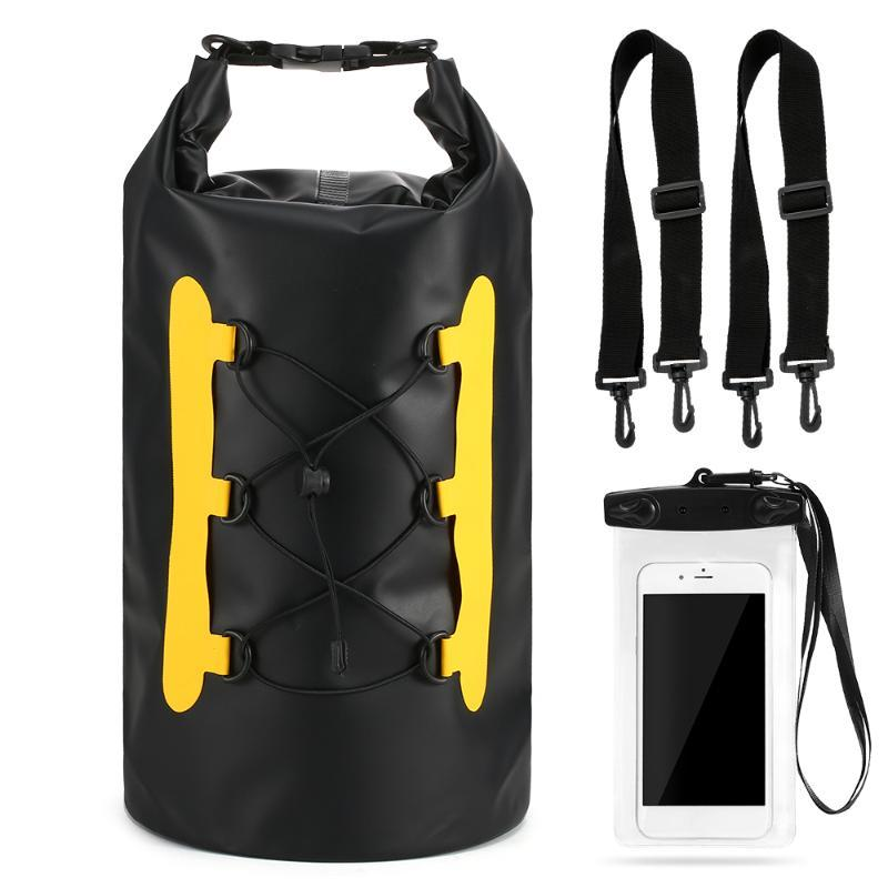 야외 가방 방수 배낭 건조 가방 수영 롤 탑 자루 물 보트 낚시 서핑을 위해 떠있는 물