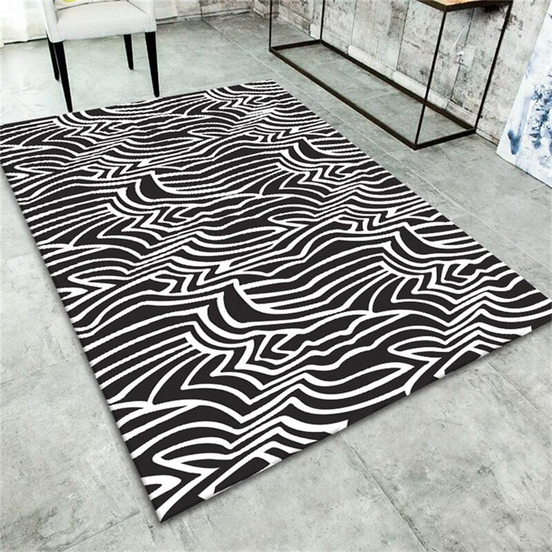 3D Carpets Luxury Rug Optical Illusion Non Slip Bathroom Floor Mat 3D Printing Bedroom Living Room Bedside Coffee Table Carpet 332 R2