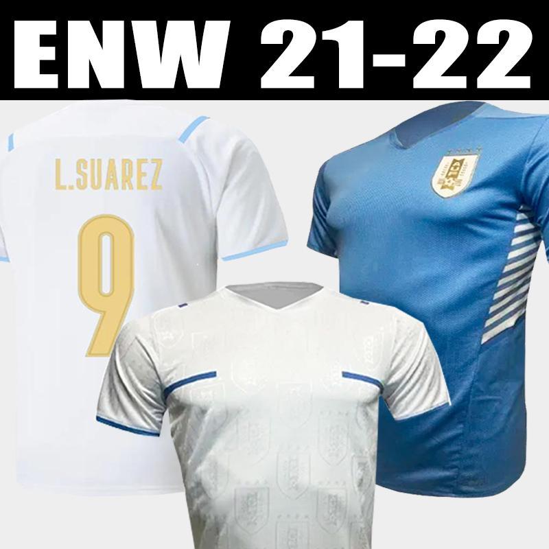 2021 2022 Copa America Uruguay Soccer Jersey 21 22 الصفحة الرئيسية L.Suarez E.Cavani F. Valverde Shirt N. Nández J.M.Giménez de la Cruz فريق كرة القدم الوطني