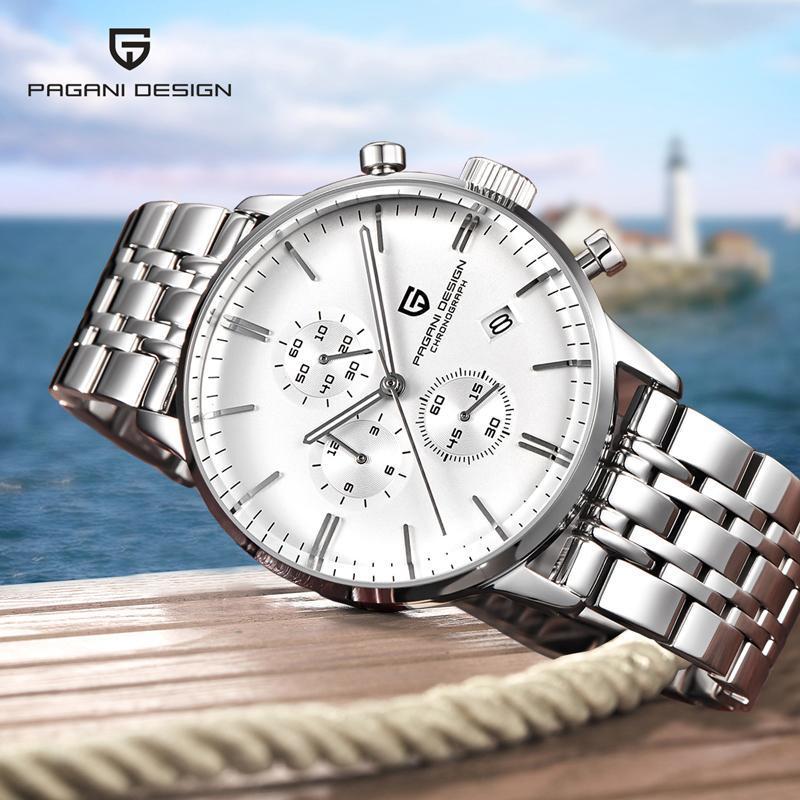 Armbanduhren Pagani Design Top Herrenuhren Bewegung Quarzuhr Männer Wasserdichte Business Mode Uhr Mann Relogio Masculino