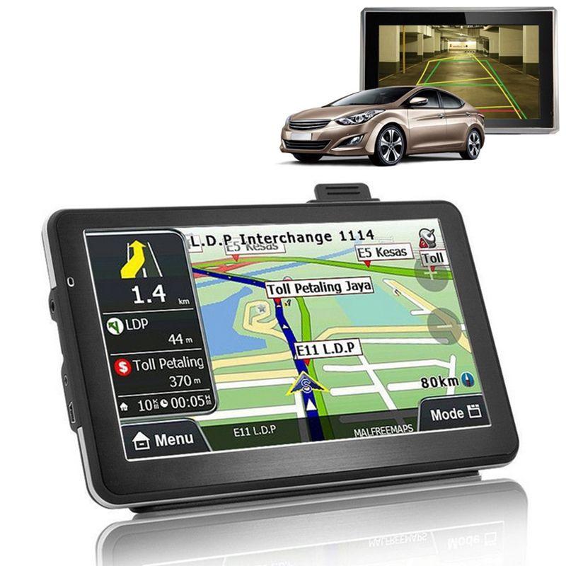 wtyd for CARRVAS 718N 70 inch TFT Touch-screen Car GPS Navigator MediaTekMT2531 WINCE60 OS Built-in speaker 128MB4GB IGO NAVITEL Maps FM