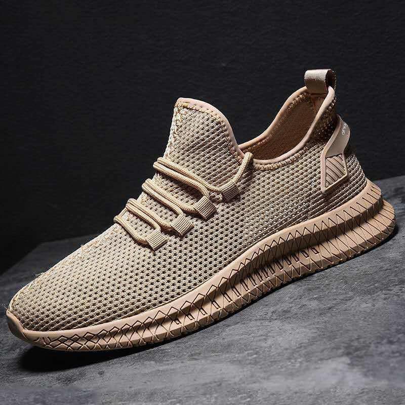 الاحذية للرجل 2021 الصيف ماركة الرياضة أحذية الرجال الركض الأحذية في الهواء الطلق خفيفة الوزن تنفس الرجل جورب رياضة الرجال أسود أبيض
