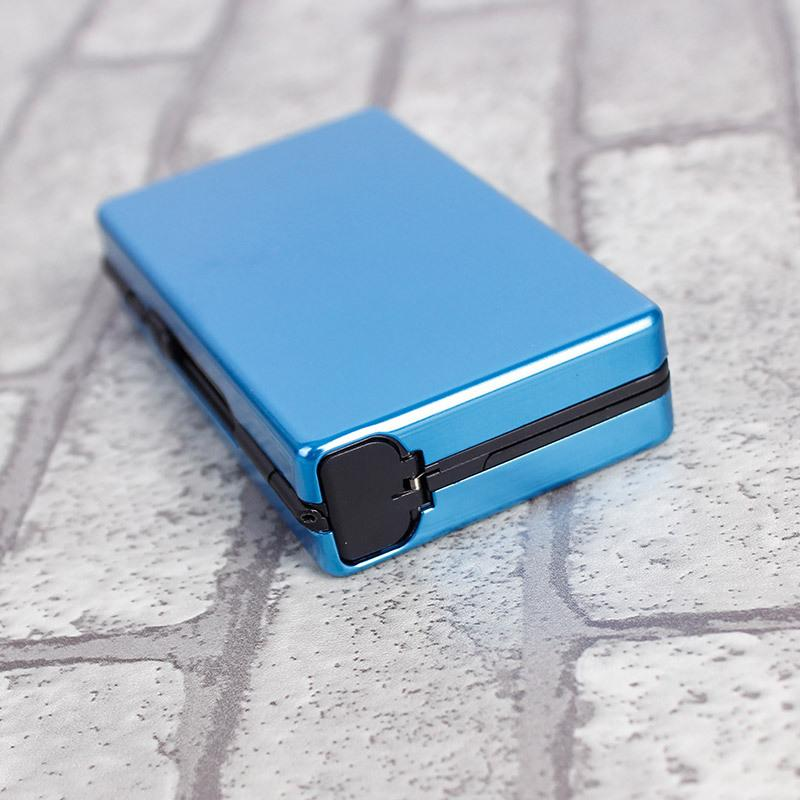 Новый Fshion Pipe Cretive Personlity Cigret CSE Slim Metl Cigretty Box Luminum подарочная коробка держатель сигрета