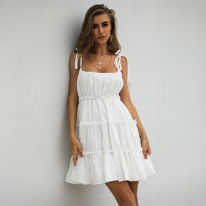 Askı Elbise Kadın Yaz Süper Peri Orman Kek Etek Retro Platycodon Kız Elbise 9 Renkler Seçebilirsiniz