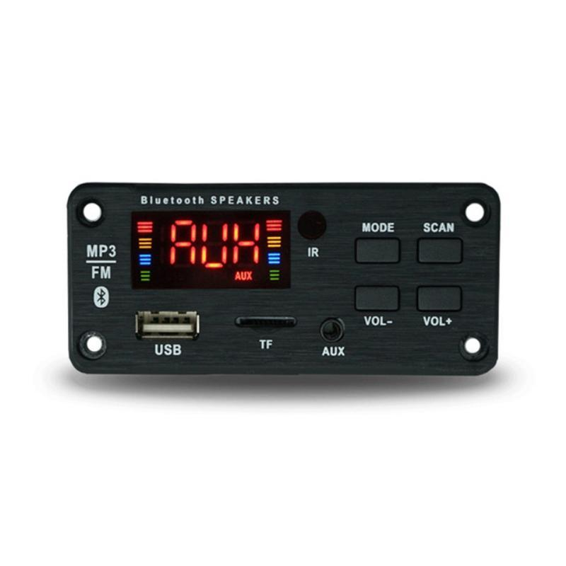Car Audio Mp3 Wireless Bluetooth 5.0 Decoder Board Module USB Player TF Card Slot For