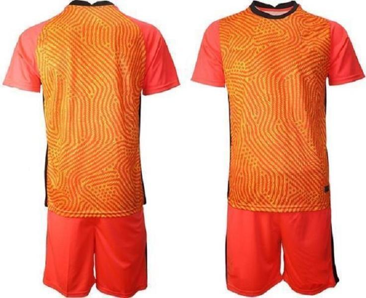 사용자 정의 2021 모든 국가 대표팀 골키퍼 축구 유니폼 남자 긴 소매 골키퍼 유니폼 키즈 GK 어린이 축구 셔츠 키트