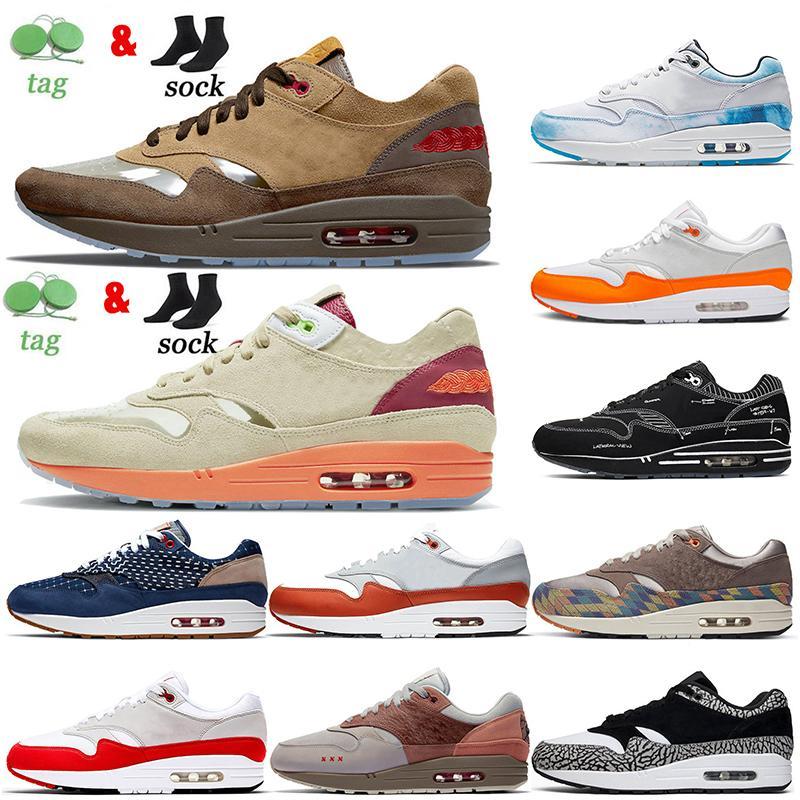 도매 남성 여성 1 1S 신발을 실행하는 신발 암스테르담 화이트의 키스 블랙 도식 코끼리 런던 무지개 빛깔의 Taupe 헤이즈 럭셔리 트레이너 스포츠 스니커즈