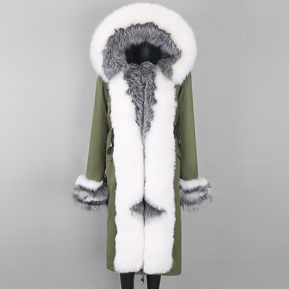 Kirpi Ceket Lavelache 2021 Kadın Sonbahar Kış Ceket Yüksek Kaliteli Kadın Ceket X-Uzun Kadın Parka Marka Giyim
