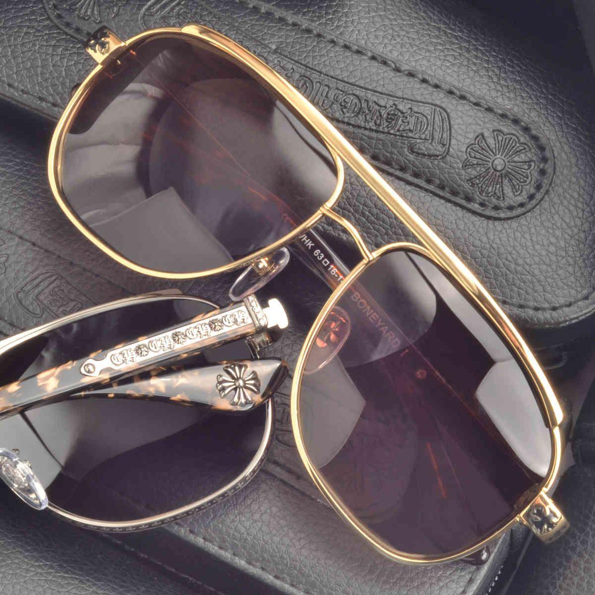 Punk Luo Xinchao Güneş Gözlüğü Adam Kişilik Sürüş Polarize Toad Gözlük Yakın Geçişli Güneş Gözlüğü Sürücü Sürüş Gözlük