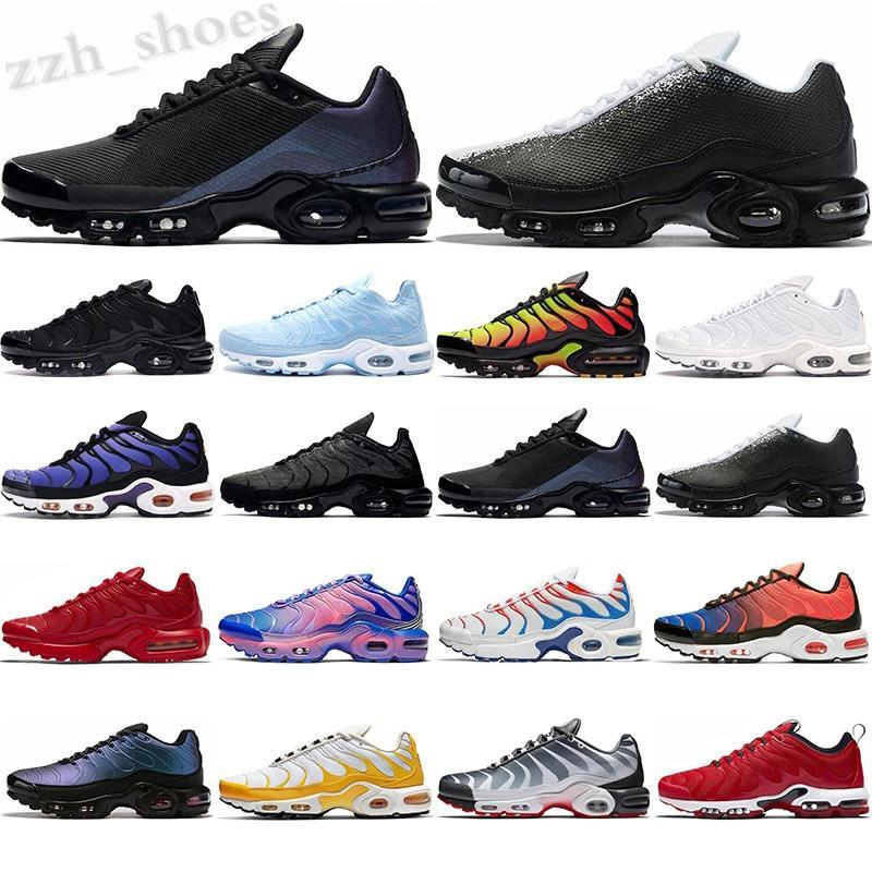 Nike Air VaporMax TN SE 2021 Erkek Rahat Ayakkabılar TN Artı SE Fayans Üçlü Beyaz Mavi Hiper Pimento Sadece Siyah Erkekler Eğitmenler Runner Sneakers PR08