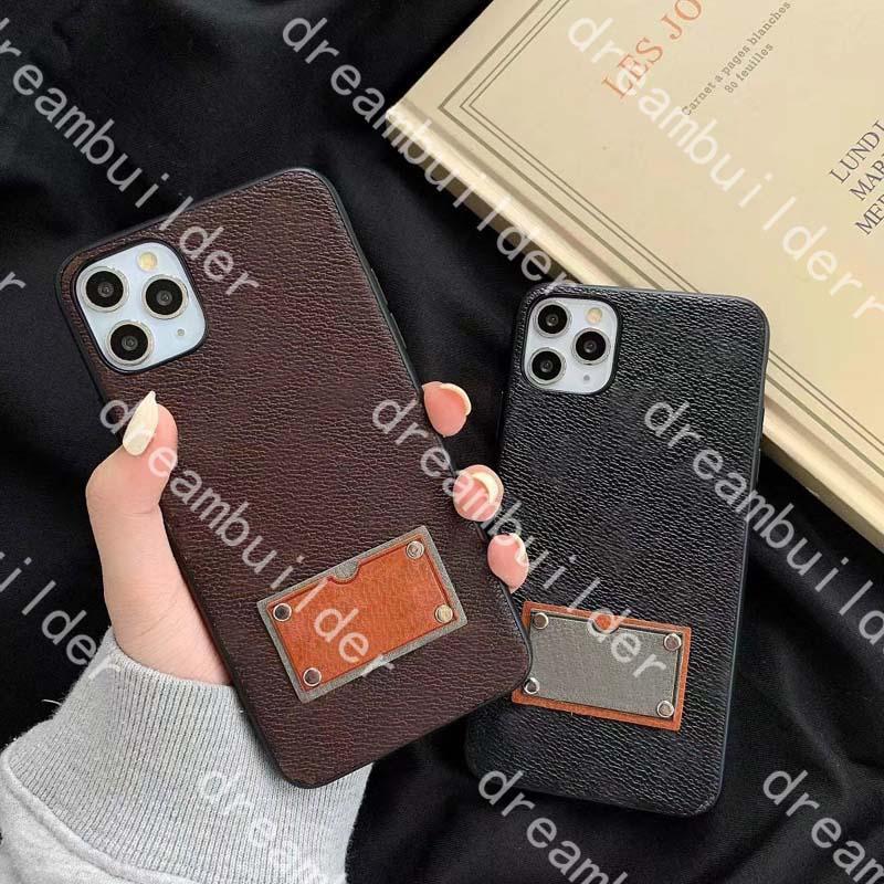 Custodie per telefono di moda di lusso per 12 Pro Max 12mini Mini 11Pro 11Promax 7 8 Plus XS XR XR XSMAX PU Custodia in pelle Custodia protettiva