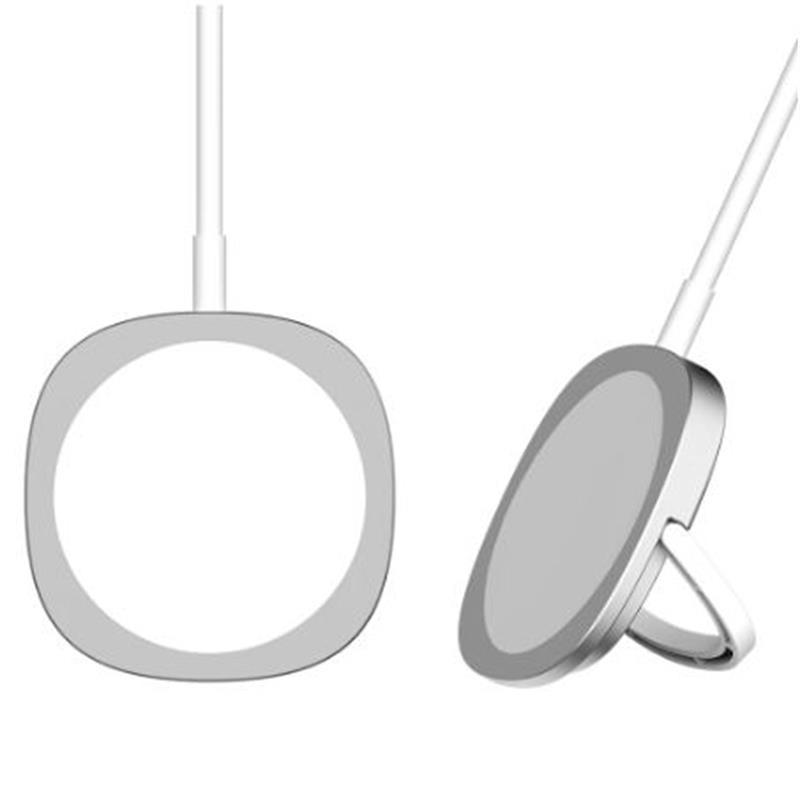 Carregador sem fio magnético para iphone 12 pro max mini carga carregar rápido carregamento 3a ímã tecnologia