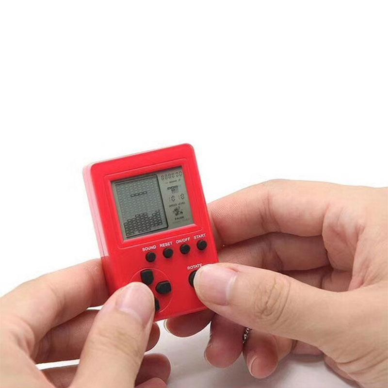 Taşınabilir Oyun Oyuncuları Retro Klasik Çocukluk Tetris El LCD Elektronik Oyunlar Oyuncaklar Konsol Riddle Eğitim