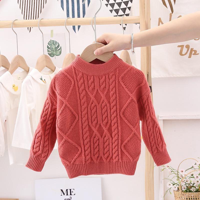Süße feste Frühling Herbst Tops Jungen Pullover Jacke Mantel Kinder Stricken Mantel Outwear Teenager Kinder Kleidung Hohe Qualität Pullover