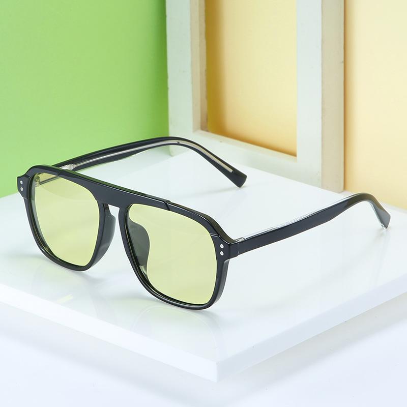 Изменение цветов солнцезащитные очки день и ночь, 2021 TR90 Ядроная нога поляризована