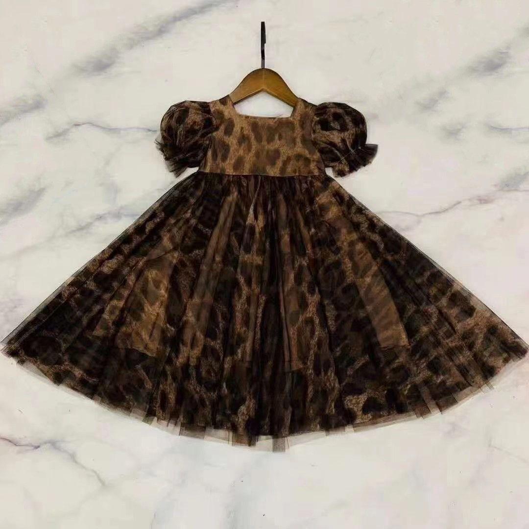 2021 Çok Güzel Kız Elbise Prenses Kostüm Çocuk Çocuklar Elbiseler Giyim Boyutu 90-150