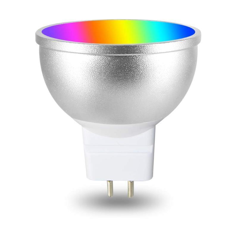 전구 GU5.3 LED 전구 MR16 AC85-265V WiFi Alexa Google Home Assistant iFttuya Smart Life App 원격 제어 RGB 조광기 램프