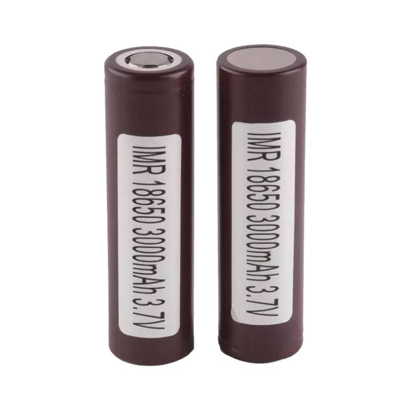 500 unids 100% alta calidad para LG HG2 18650 Batería 3000mAh IMR 3.7V para LG Sony Samsung Recargable Baterías de litio Cell