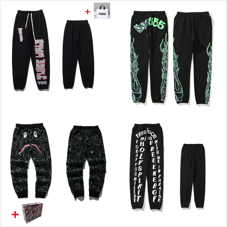 Pantalones para hombre pantalones de alta calle para hombres Sweetpants reflectantes Casual para mujer Hip Hop Camo Streetwear de alta calidad Trae Bolsa de asas