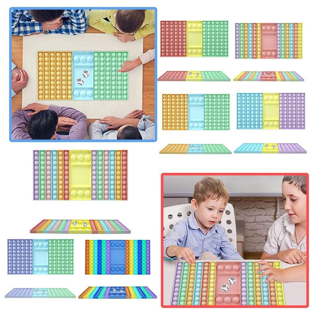 Commercio all'ingrosso grande dimensione giocattoli giocattoli push bolla per scolaro board ciondolo caldo adulto per adulti per adulti stress toys giocattoli per la famiglia tavolo da tavolo giochi