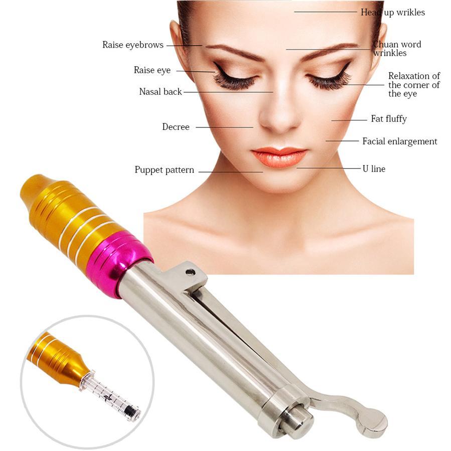 Household Hyaluronic Injection Pen Atomizer Pen High Pressure Acid Micro Guns Anti Wrinkle Lip Filler Lip Lifting Non NeedleRabi