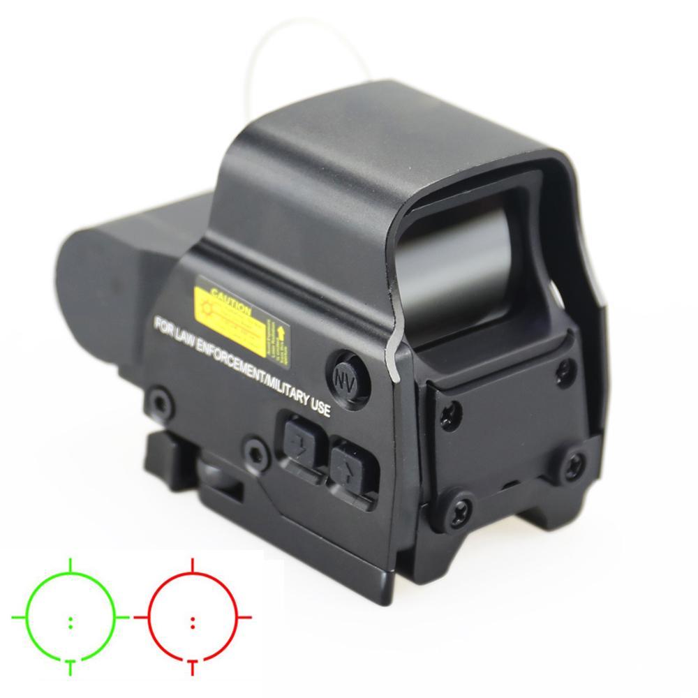 Tactical 558 Красная точка зрения Голографическая Охота Охота Охоты Рефлекторные прицелы для 20 мм Weaver Rail Mount Riresoft Riflescope.