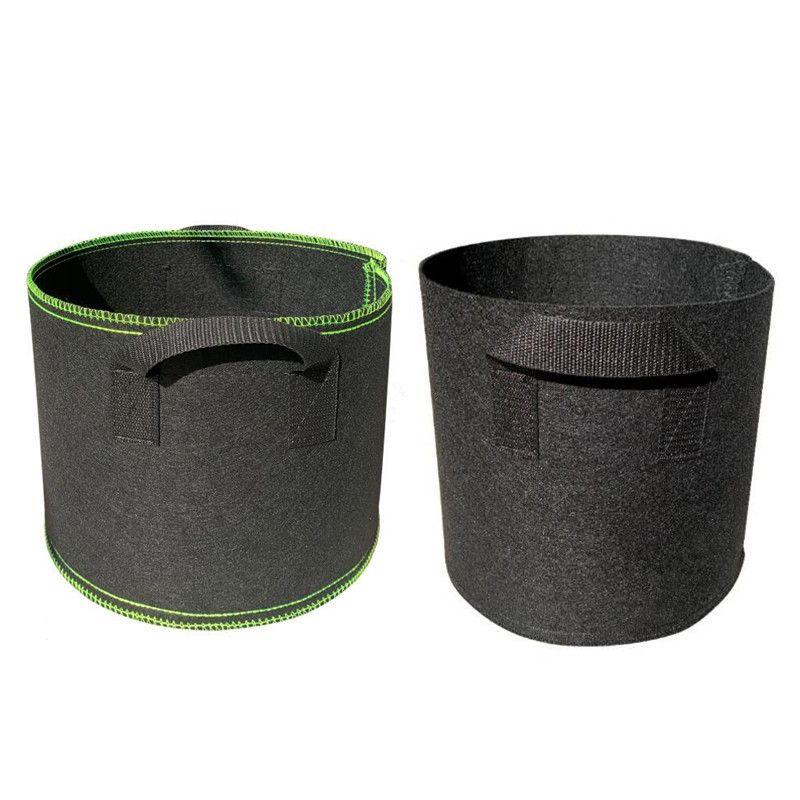 Series Premium 1-30 Cultivar bolsas Contenedor de trabajo pesado 300G Espesado Tela no tejida Potes de plantas de 5 galones con manijas JH3S