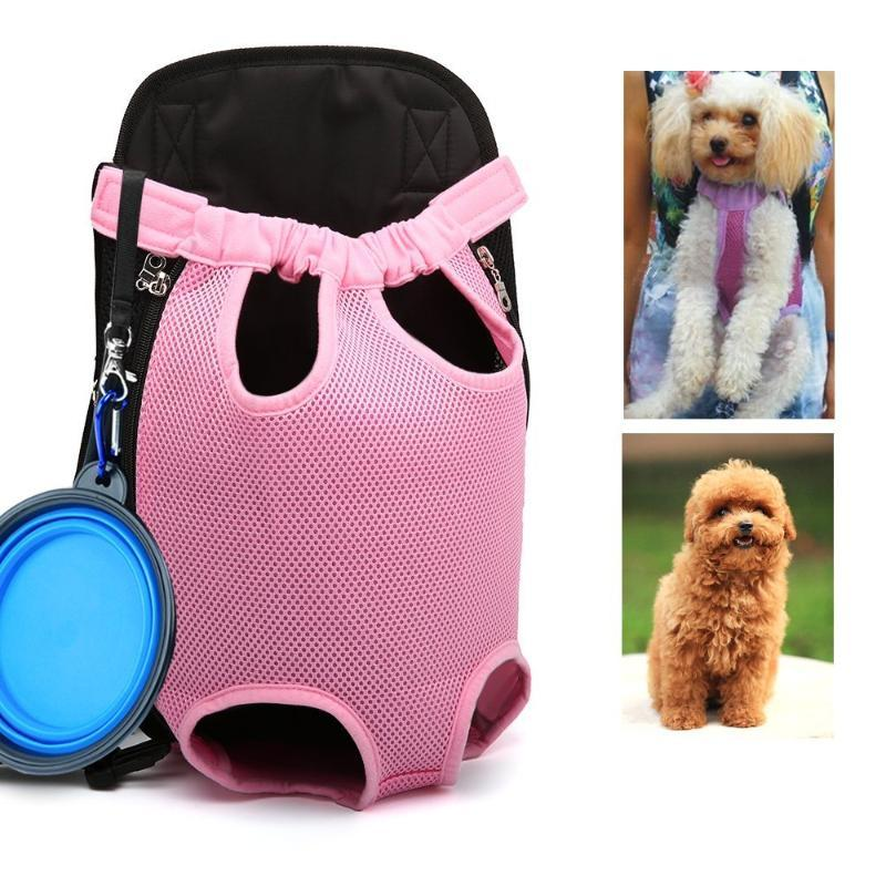 Dog Carrier Backpack Lightweight Mesh Camouflage Colorful Travel Products Breathable Shoulder Bags For Small Cats Car Seat Covers