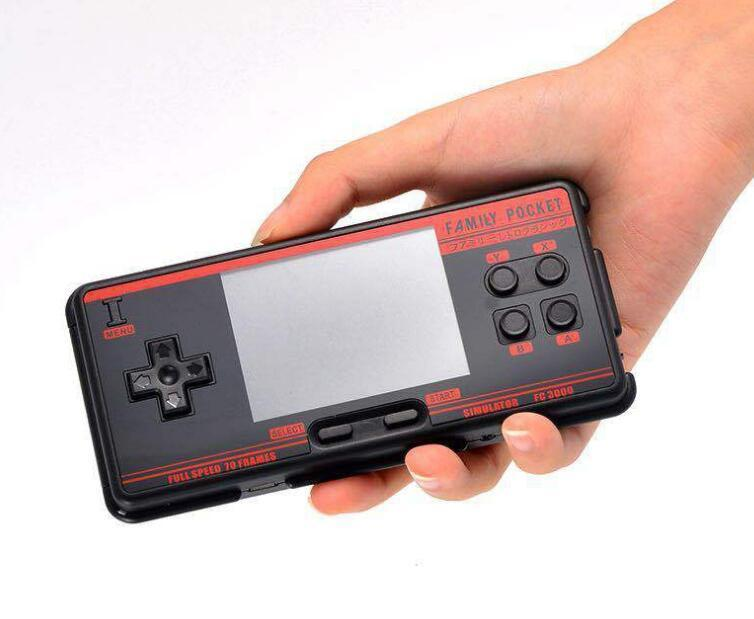 Built-in 1094 Game Console FC3000 Retro Portable With 3.0 Inches IPS TFT Display Screen Christmas Gift Players