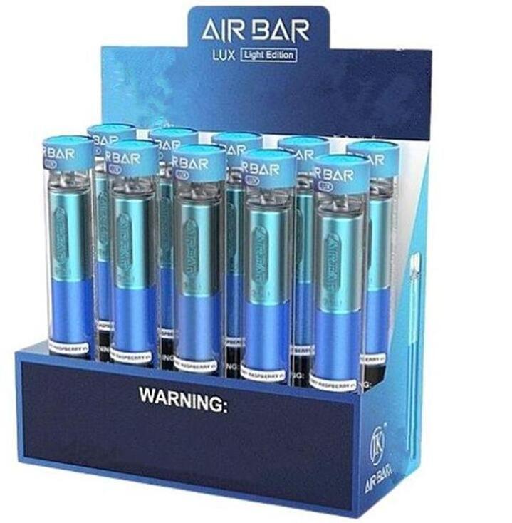 Air Bar max Lux Disposable Vape e cigarette Kit Device Built-in 500mah Battery 2.7ml 1000 puffs