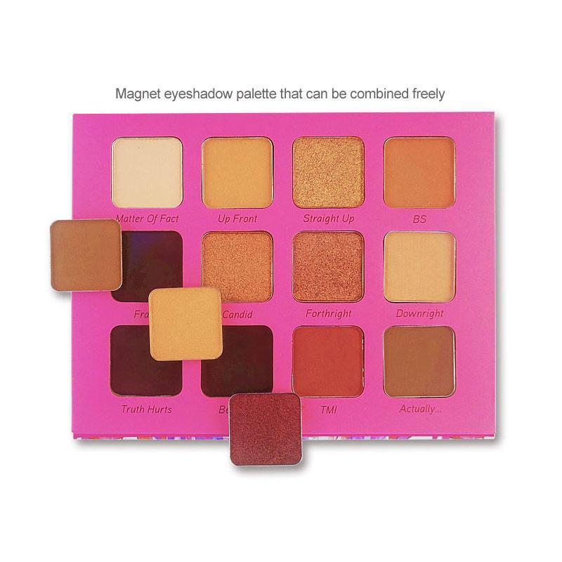 Paleta de sombra de cor livre combinação de ímãs Modern Maquillage Yeux fosco shimmer femme maquillaje sombra de olho