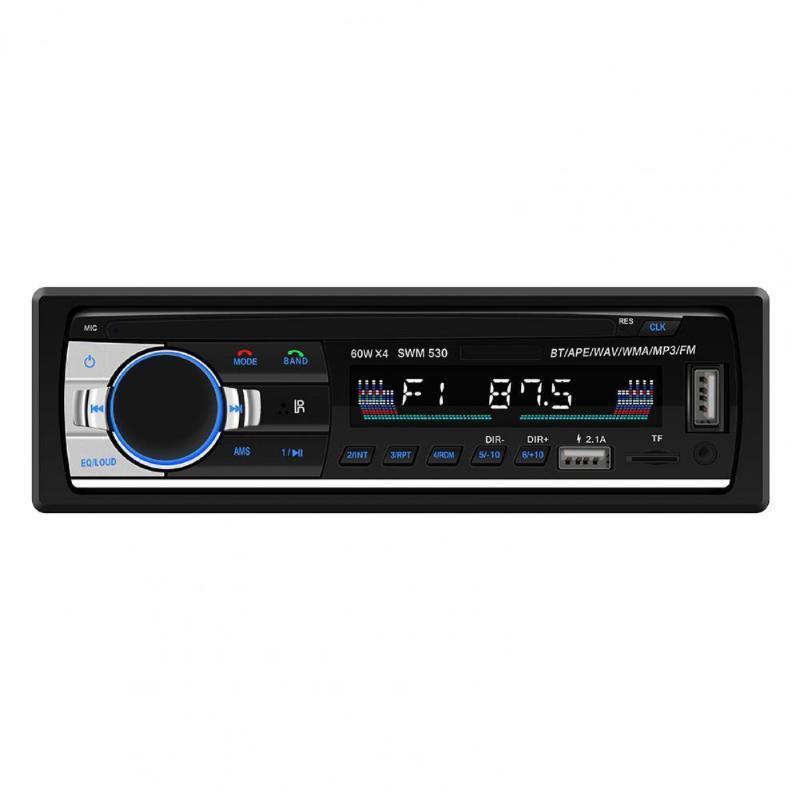 Vendite del 60% !!! SWM-530 Dual USB Phone CARICAMENTO FM Radio / AUX / U Disco / Bluetooth / Carta Playback 12V Car MP3 Player Deodorante