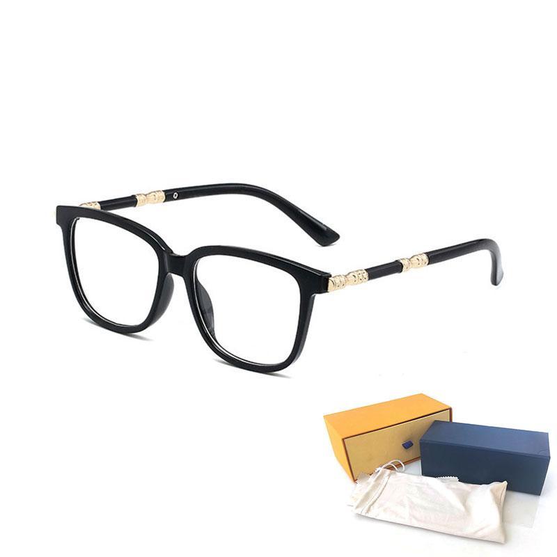 Occhiali da sole da sole di alta qualità Occhiali da sole Trasparenti Moda Mens Occhiali da sole Protezione UV Luxury Protezione UV Designer Eyeglass Gradiente Metallo Cerniera Eye Donne Nglasses 2184