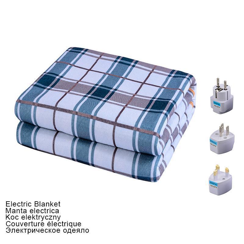 Battaniyeler Elektrikli Battaniye 220 V Kalın Isıtıcı Çift Vücut Isıtıcı 180 * 150 CM Isıtmalı Yatak Termostat Isıtma